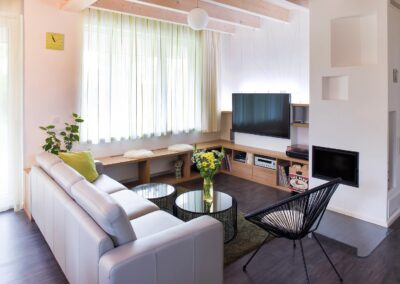 Realizace návrhu obývacího pokoje