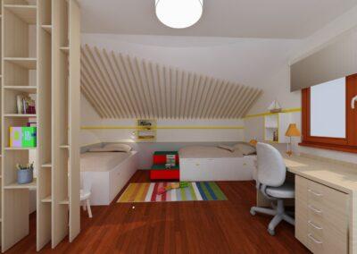 Realizace návrhu dětského pokoje